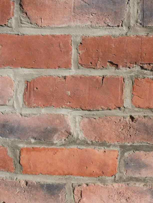 Rustic brick wall cladding
